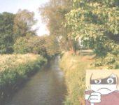 Begradigter Flusslauf!