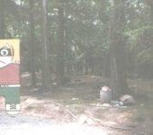 Überfüllter Mülleimer am Wanderweg!