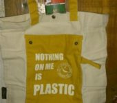 Nothing on me is plastic!