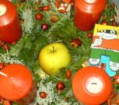 Weihnachstzeit miuss bio sein- mit Sachen aus dem eignen Garten