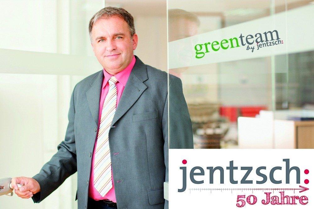 Geschäftsführer Gottfried Hirsch will mit seinem greenteam sicherstellen, dass laufend am Umweltschutz gearbeitet wird.