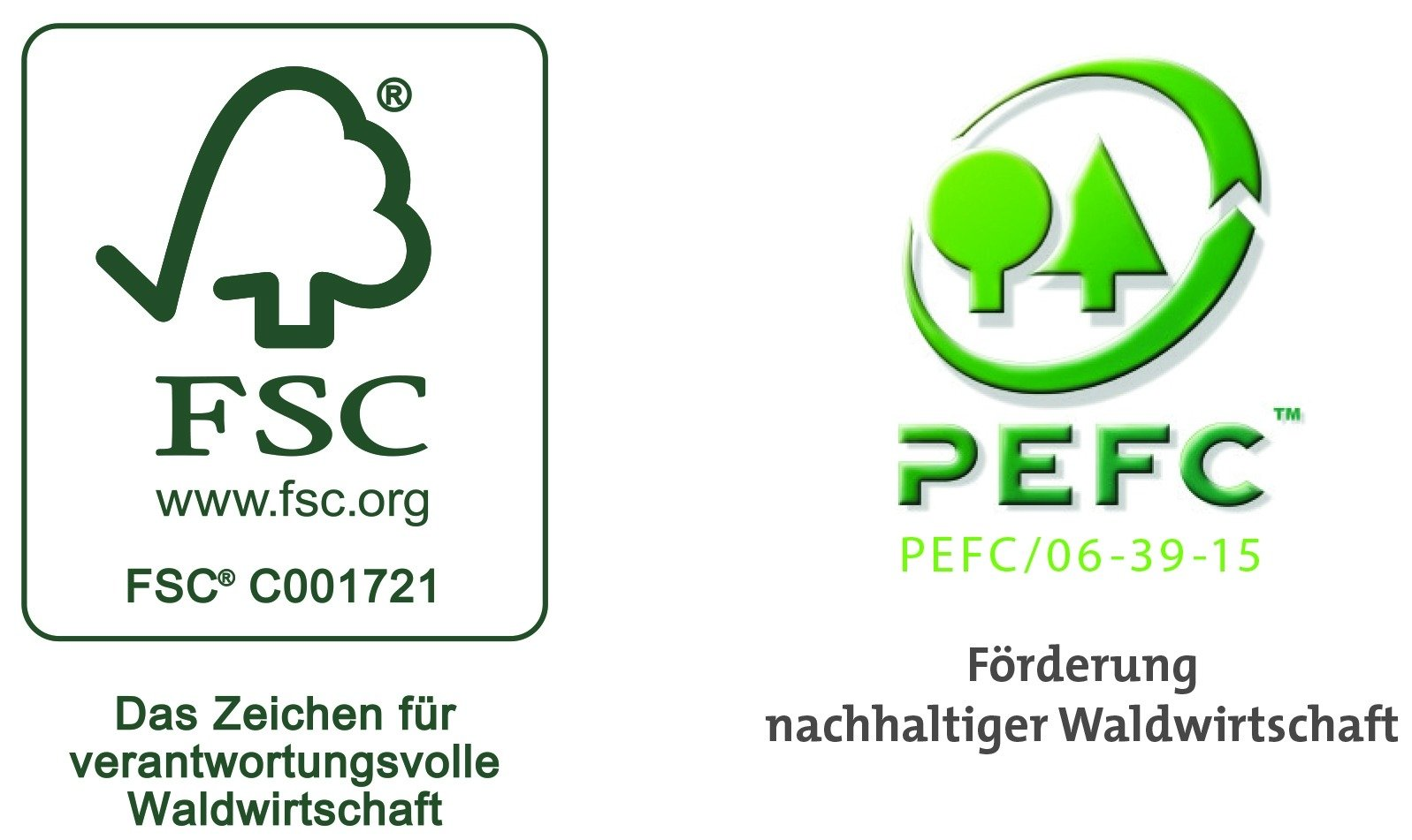 Jentzsch ist die 1. Druckerei, die von einer österreichischen Zertifizierungsstelle gleichzeitig mit den Zertifikaten FSC und PEFC ausgezeichnet wurde.