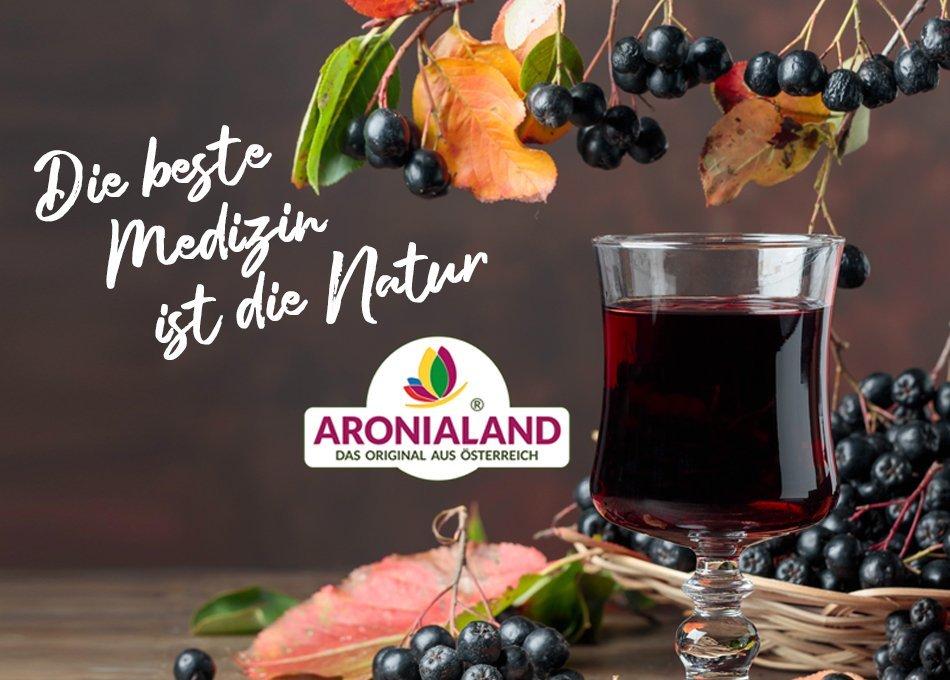 Bio-Aroniasaft von Aronialand