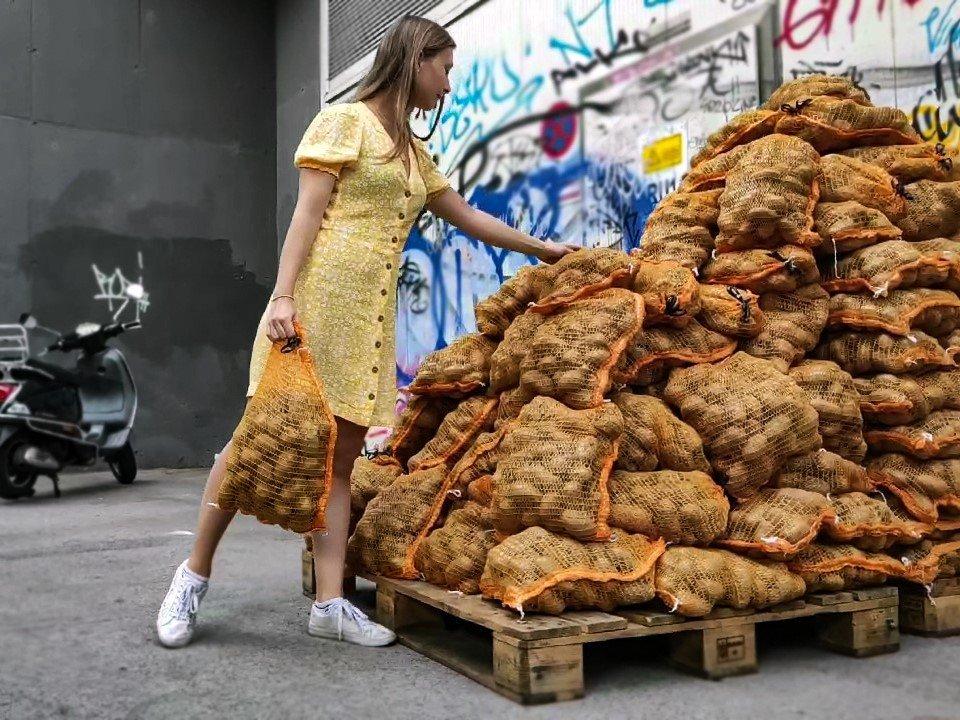 2 Tonnen Erdäpfel gerettet - Toogoodtogo