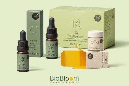 Biobloom CBD- und Hanfprodukte