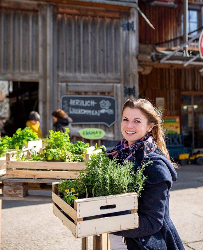 Adamah Biojungpflanzenmarkt